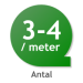 THUJA SMARAGD  30-60CM+ (KRUKODLAD)